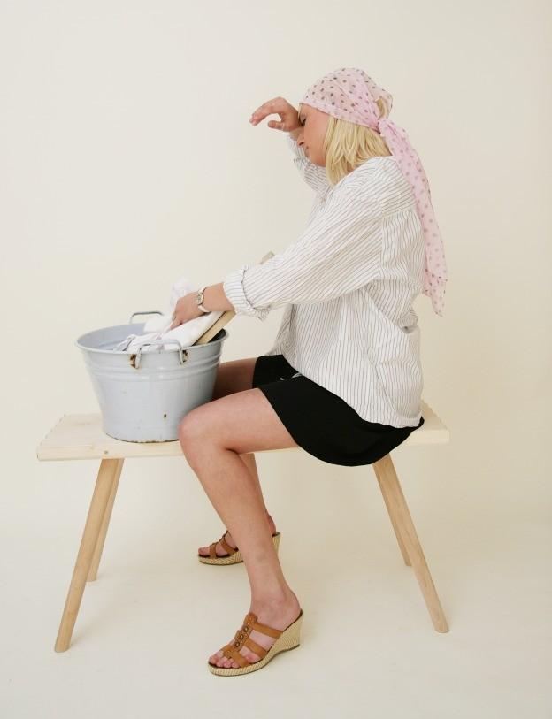 waschbank holzbank wie fr her sitzbank f r k che bad ebay. Black Bedroom Furniture Sets. Home Design Ideas