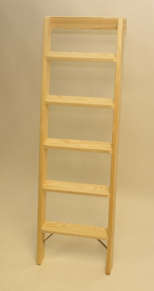 parallelanlegeleiter 5 stufen mit stirnbrett stufen anlegeleitern aus holz stufen anlegeleiter. Black Bedroom Furniture Sets. Home Design Ideas
