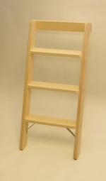 Parallelanlegeleiter 3 Stufen mit Stirnbrett