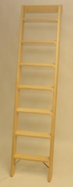 Parallelanlegeleiter 9 Stufen mit Stirnbrett senkrechte Höhe 2,30 m Wandabstand 68 cm