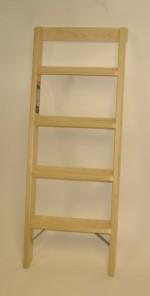Parallelanlegeleiter 4 Stufen mit Stirnbrett