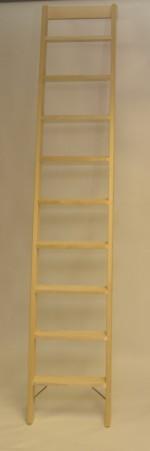 Parallelanlegeleiter 9 Stufen mit Stirnbrett