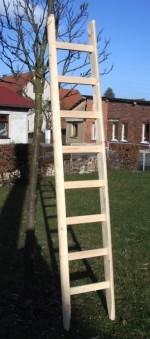 Vierkantsprossen-Anlegeleiter 6,5 Meter