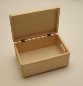 holzkiste holzbox 30 x 20 x 14 cm mit deckel wohn. Black Bedroom Furniture Sets. Home Design Ideas