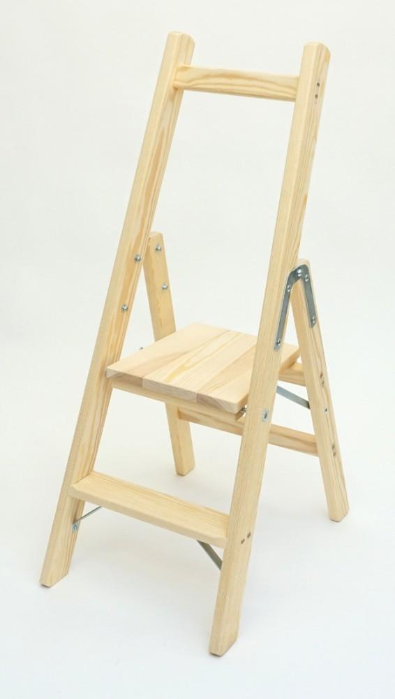 sicherheitsleiter bibliotheksleiter 2 stufen doppelleitern stehleitern aus holz. Black Bedroom Furniture Sets. Home Design Ideas