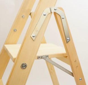 bibliotheksleiter sicherheitsleiter holzleiter. Black Bedroom Furniture Sets. Home Design Ideas