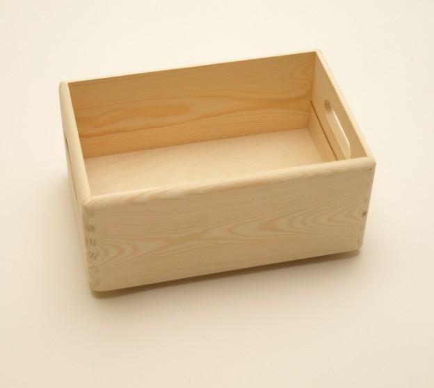 Holzkiste holzbox 30 x 20 x 14 cm wohn accessoires holzkisten holzboxen - Holzkisten wand ...